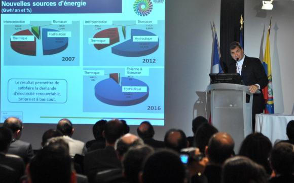 Président-Equateur-Correa-MEDEF-France