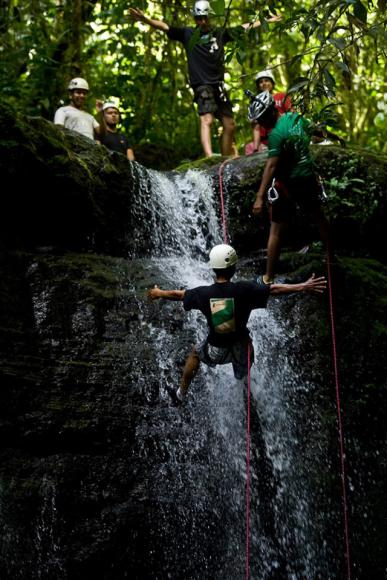 canyoning-equateur