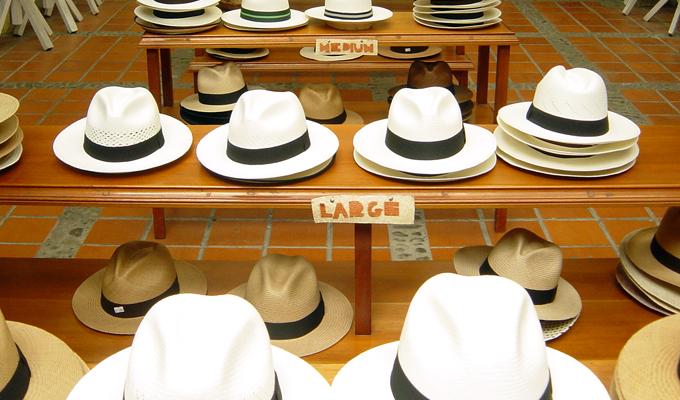 Chapeau panama equateur