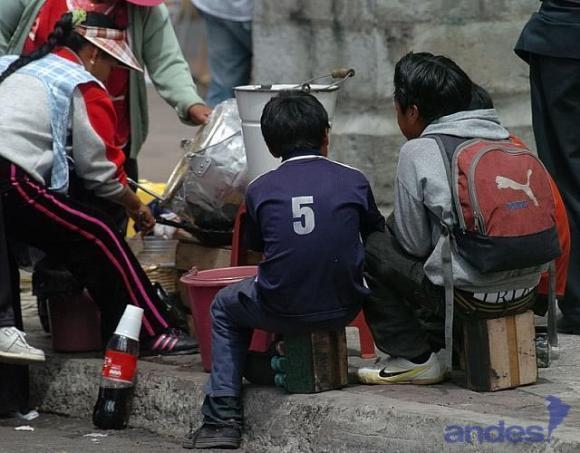 travail infantile equateur