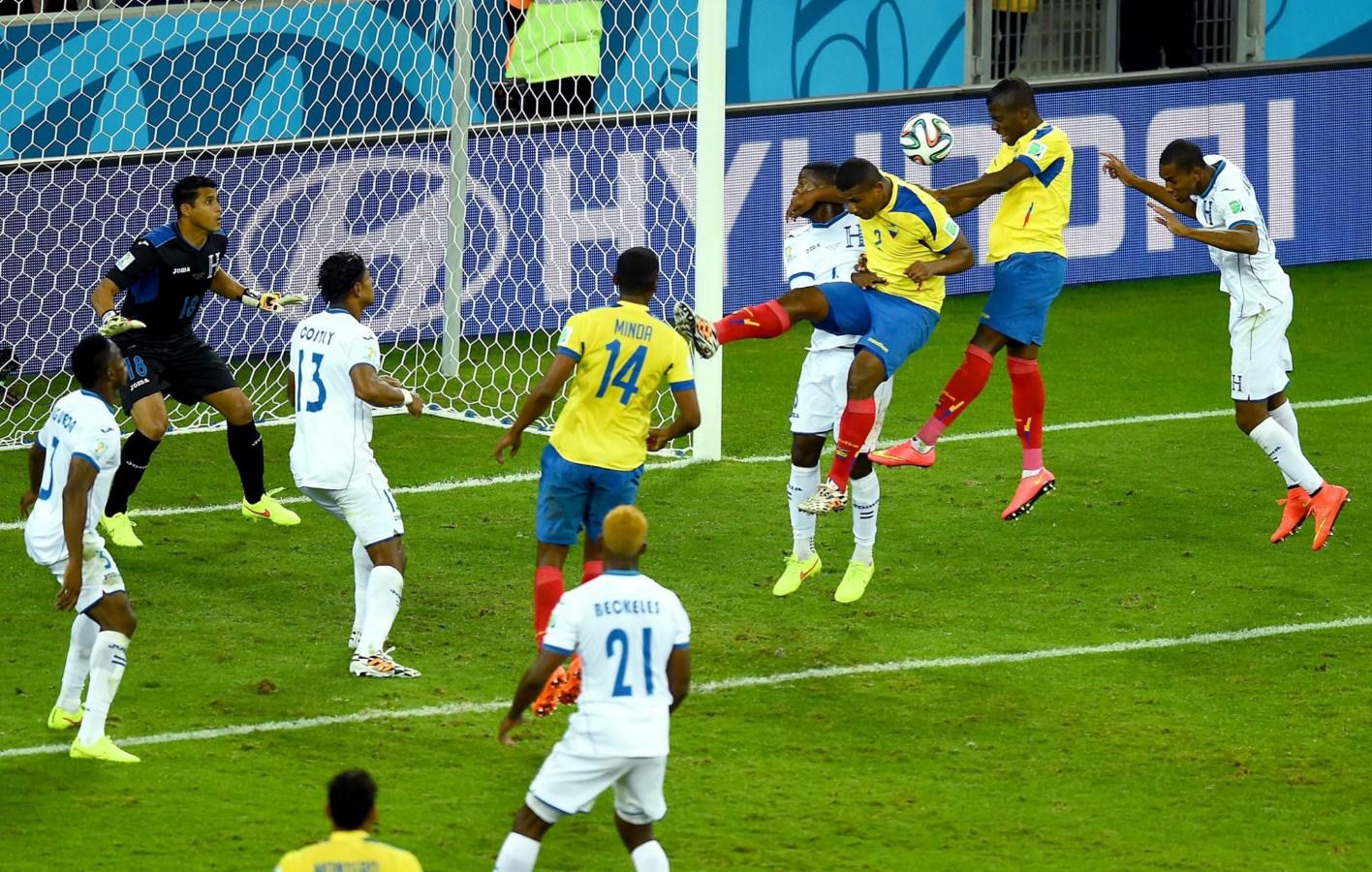 coupe du monde equateur-Honduras