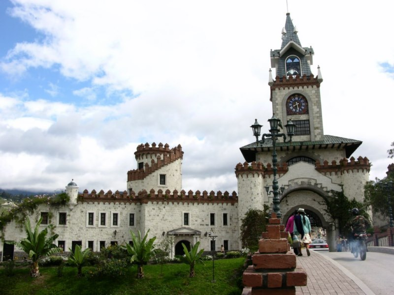 La porte d'entrée de Loja
