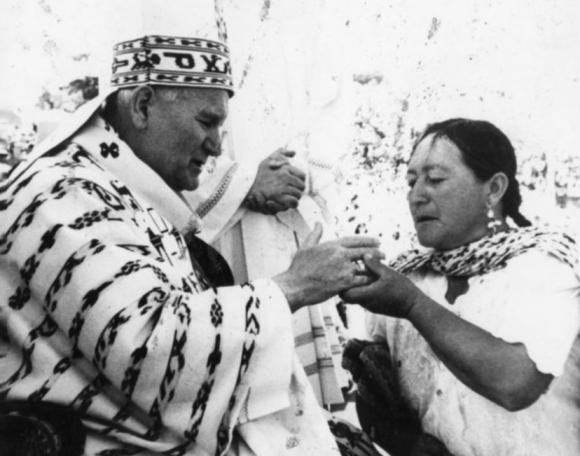 Jean-Paul II en Equateur en 1985