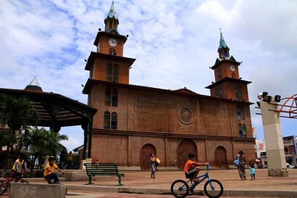 route des 7 églises d'Equateur 1