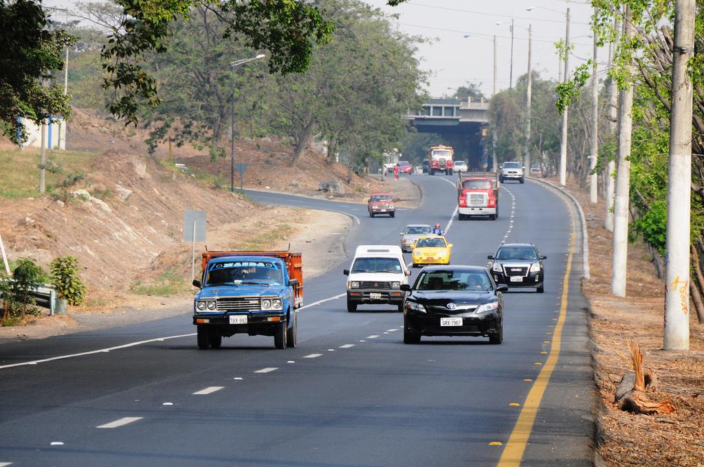 état des routes en Equateur 2
