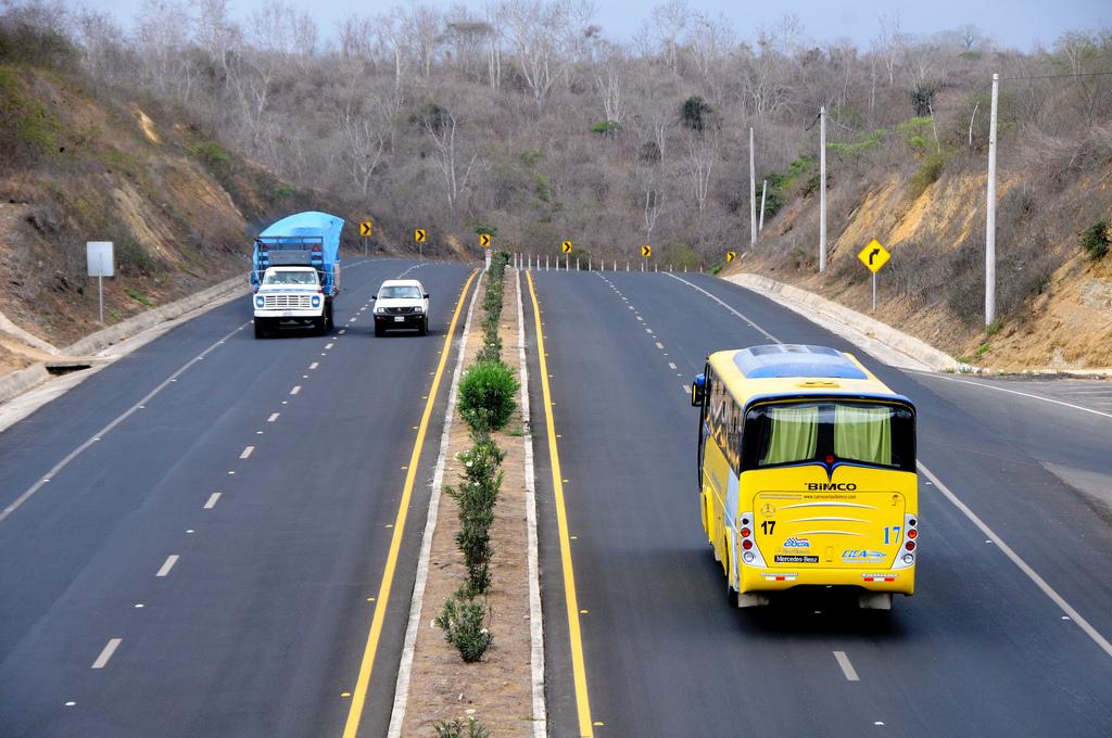 état des routes en Equateur  3