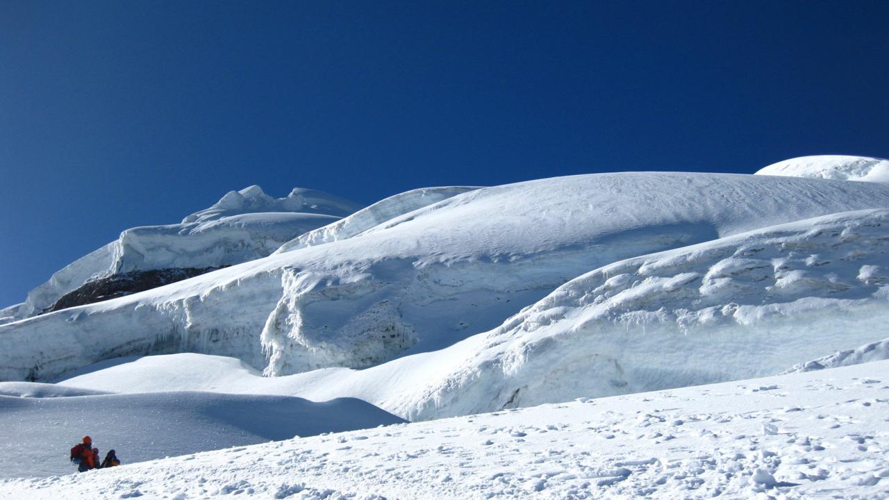 Le glacier du Cotopaxi