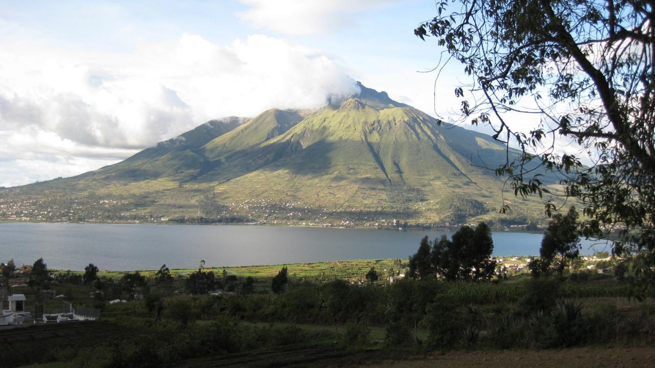 Le volcan Imbabura